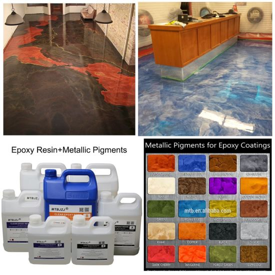 Diy Metallic Epoxy Flooring Coating Kit