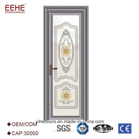 Aluminum Frosted Glass Toilet Bathroom Doors Price From China