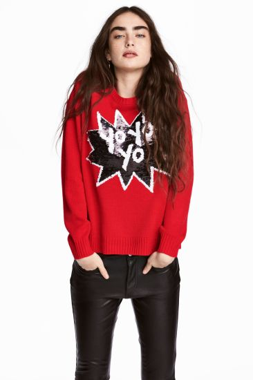 Laides Fashion Round Neck Sweater Clothes with Cartoons Designs