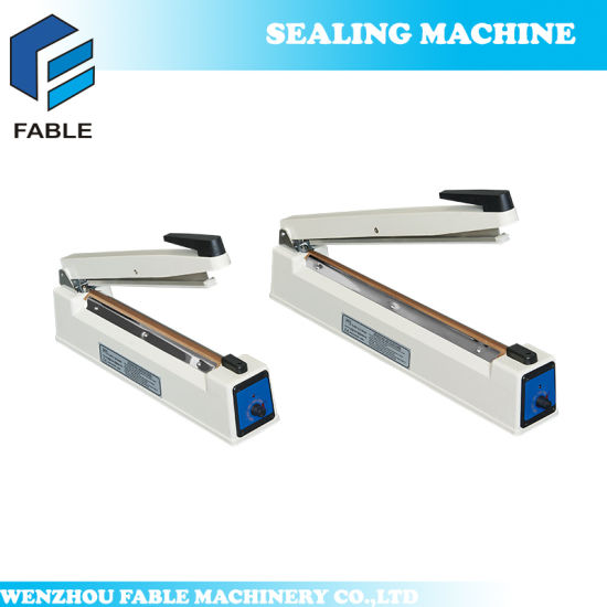 Cheap Table Top Manual Heat/Hand Sealing Machinery (PFS-100) pictures & photos