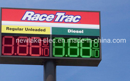 Super Slim 36inch Large Size LED Gas Price Signs Board 8.889/10 (IP 67 for all weathers)