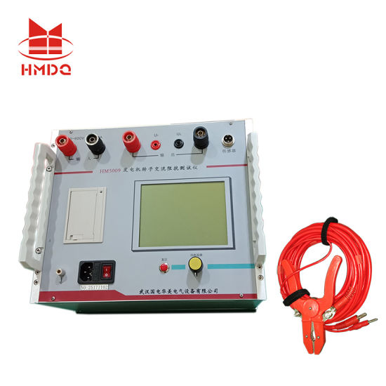 Hm5009 Series Intelligent 600V AC Impedance Tester for Generator Rotor pictures & photos