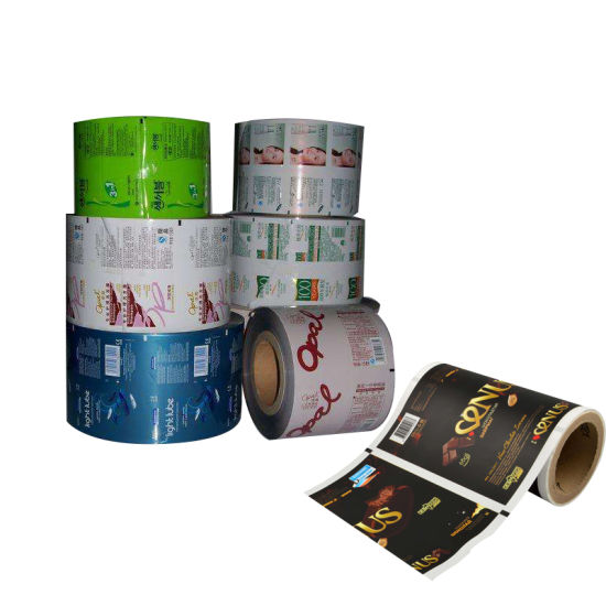 Hot Sale Customer Design Food Packing Plastic Roll Film