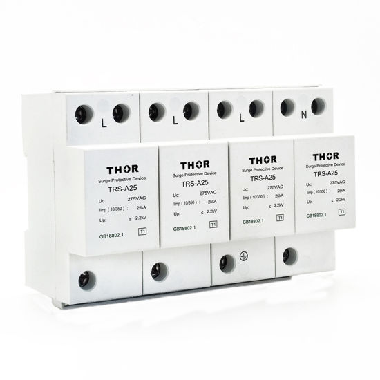 Lightning Surge Protection Surge Protection System 60ka Type One Surge Protector