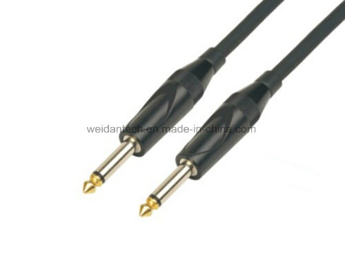 China H. Q 6.3mm Mono Electric Guitar Link Cable - China ... on