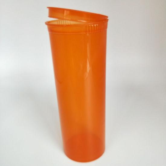 Clear /Blue /Green /Black Pop Top Vials Hinged Medical Plastic Snap Cap Pill Bottles /Small Transparent Plastic Bottles