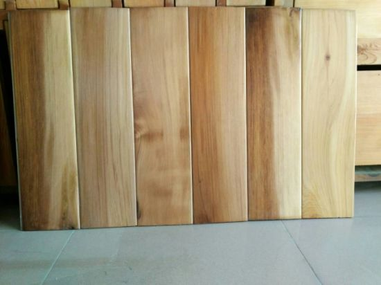 China Red Cedar Wood Wall Panel and Cladding with UV Lacquer