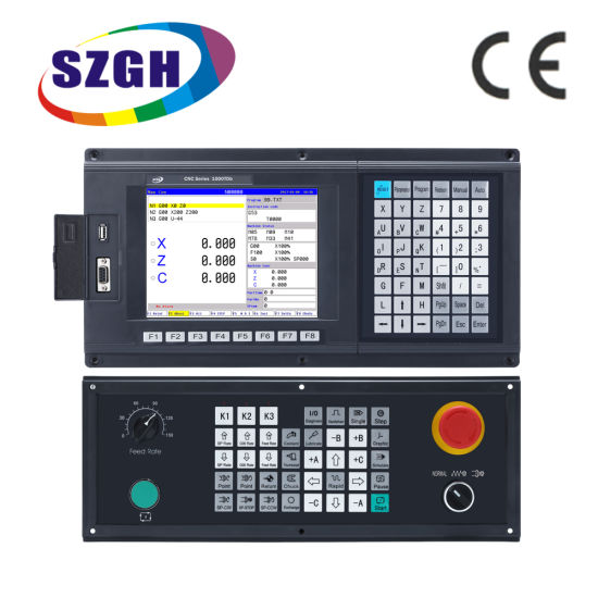 Low Cost with PLC+Atc Function for Milling Machine 4 Axis CNC Milling Controller as CNC Control System