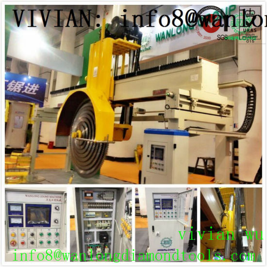 Marble Stone Block Cutting Machinery New Stone Cutter for Block