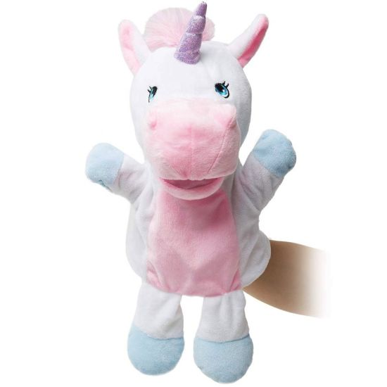 Unicorn Baby Soft Plush Hand Puppet Plush Toy