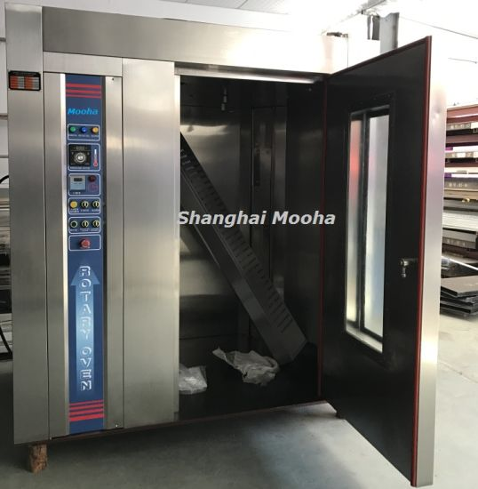 China Industrial Bakery Machines Diesel Baking Bread Rotary Ovens ...
