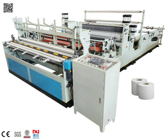 Automatic Standard Soft Bath Tissue Rewinding Making Machine pictures & photos