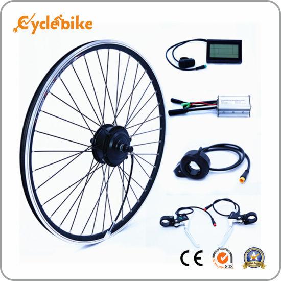 16/'/' E-Bike Conversion Hub Motor Bicycle Cycle Conversion Kit 36V 48V 240W 350W
