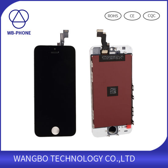 Mobile Phone Parts LCD for iPhone 5s Touch Screen Panel Assembly pictures & photos