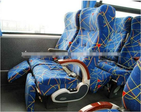 Bus Seat Fabric Clothing with Foam Sponge Fabric