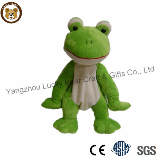 ODM OEM Professional Factory Unstuffed Soft Plush Frog Toy
