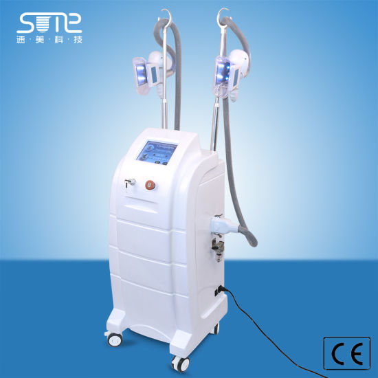 ABS Material Cryolipolysis Cavitation RF Beauty Equipment for Weight Loss Slimming