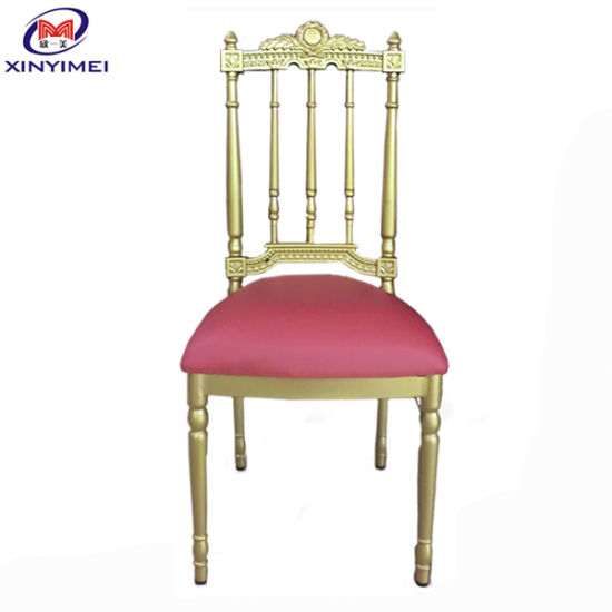 Popular Banquet Stacking Napoleon Chair for Hotel (XYM-ZJ74)