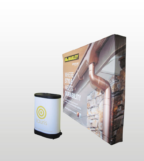 Banner Stand Aluminum Pop Up Display
