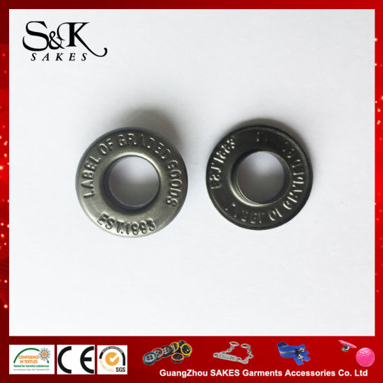 a/Silver Metal 17mm Metal Eyelet for Clothes
