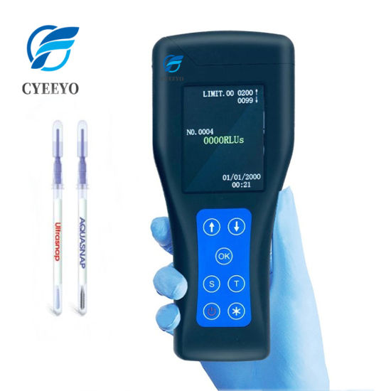 Bacteria Swabs Swab ATP Detector Detection Device Tester Test Meter
