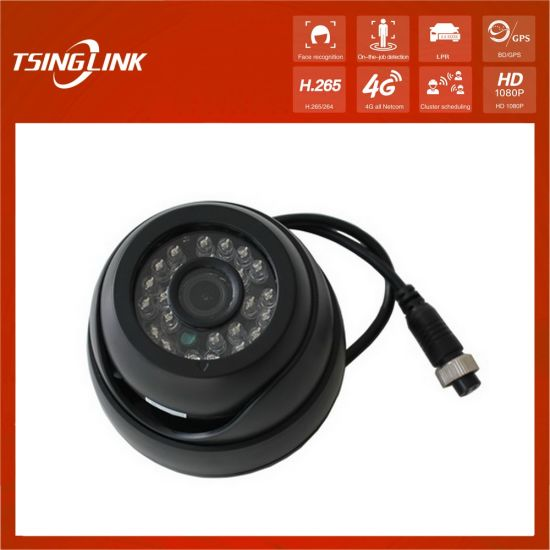 Low Cost 3MP Vehicle Taxi Inside Monitor Recording Security 3.6mm Ahd Dome CCTV Bus Camera