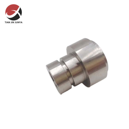 DIN/JIS/Amse Standard Junya Factory Direct Precision Casting Customized Stainless Steel 304 316 Tube CNC Turning Services Embroidery Machine Part