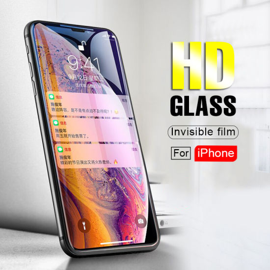 free shipping b33de 3dd7e Wholesale Popular Tempered Glass Screen Protector 9h/5D/10d and Scratch  Resistant for iPhone Xs 2018 Tempered Glass Film