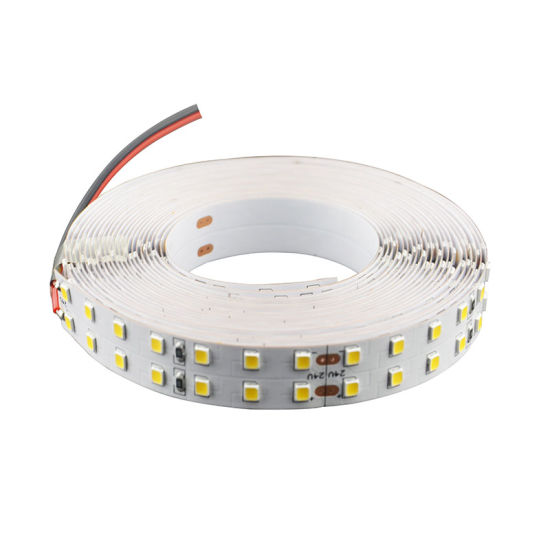 Double Row 22-24lm LED Line 196LED/M 2835 LED Strip IP65 pictures & photos