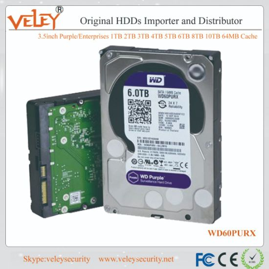"CCTV DVR Hard Drive Western Digital 2TB 64MB Cache SATA 6Gb//s 3.5/"" Desktop PC"
