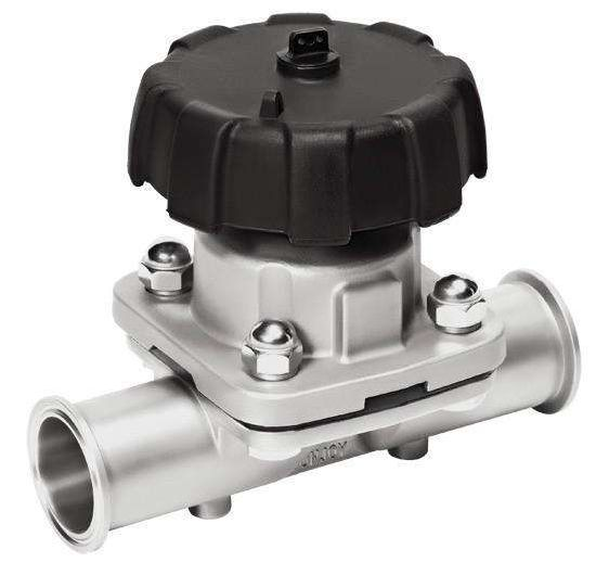 Stainless Steel 316L Diaphragm Valves of Mechanical Parts Using for Food Industry pictures & photos