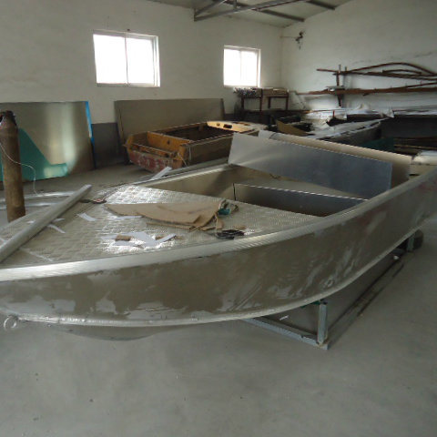 3.7 Meter Aluminum Alloy Material for Fishing Boat in Sea pictures & photos