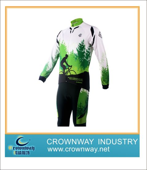 Men's Allover Printing Cycling Suit