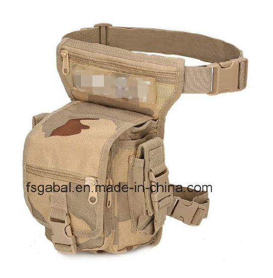 Fashion Outdoor Waterproof Military Tactical Sports Travel Waist Leg Bag pictures & photos