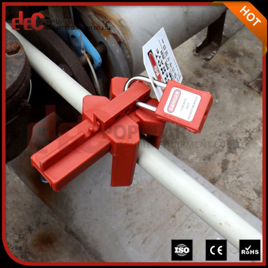 Elecpopular Brand Adjustable Ball Valve Lockout pictures & photos