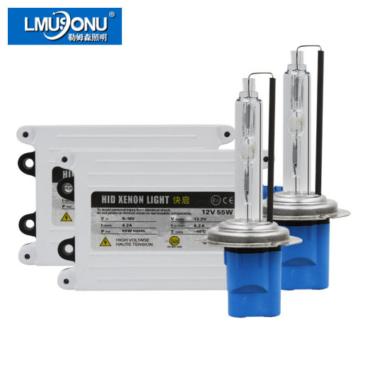 Best Quality AC 12V 55W Fast Start HID Kit Xenon Light H1 H3 H7 H11 9005 9006 9012 D2h 5500K
