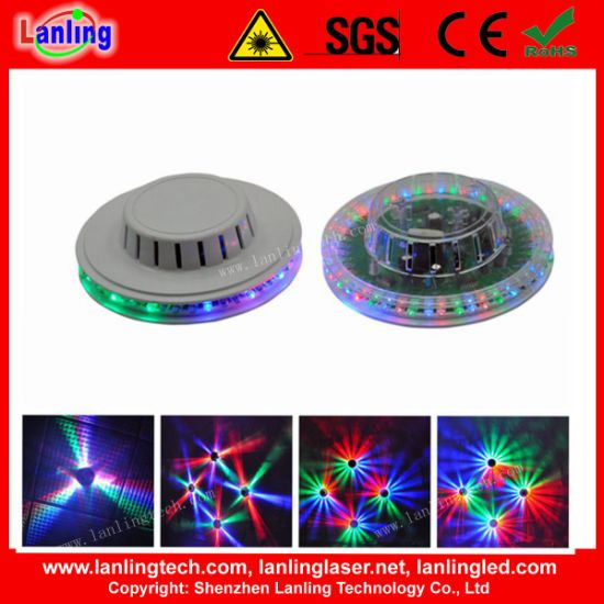 8W RGB Sunflower LED Stage Light for Christmas Party