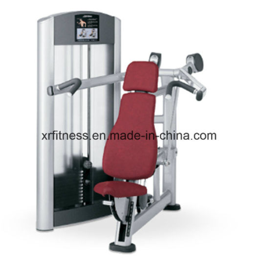 China commercial fitness equipment names seated shoulder press