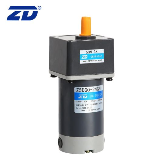90mm 90W DC Brush Gear Motor With Wide Range Ratio