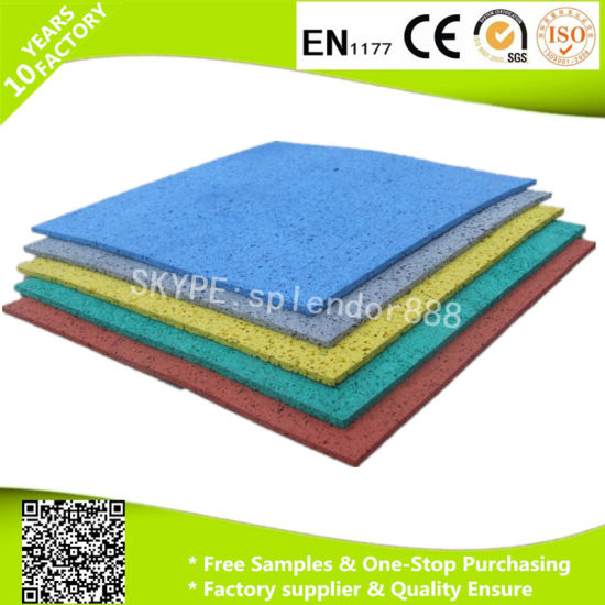 China Good Protective Puzzle Floor Tiles Interlocking Rubber Mats