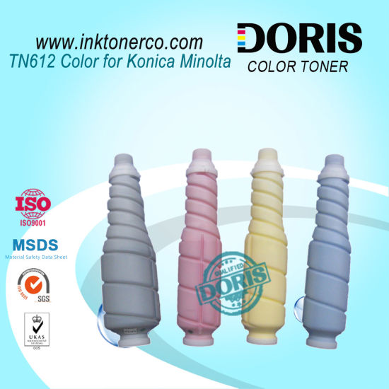 Tn612 Color Refill Copier Toner Japan Tomoegawa Powder for Konica Minolta Bizhub C6501 C5501