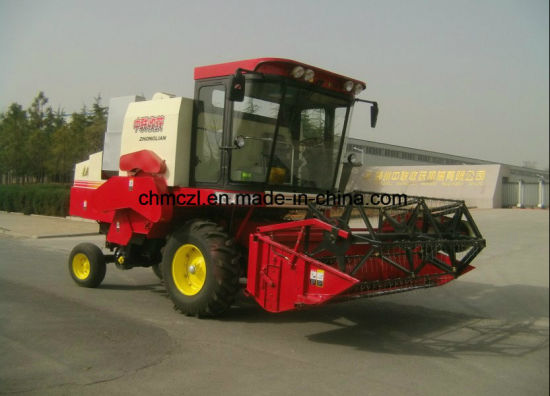 Wheel Type Low Loss Rate Rice Harvester pictures & photos