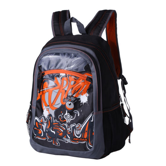 982763adbfb2 China New Style Teenage Boy Student School Bags Backpack - China ...