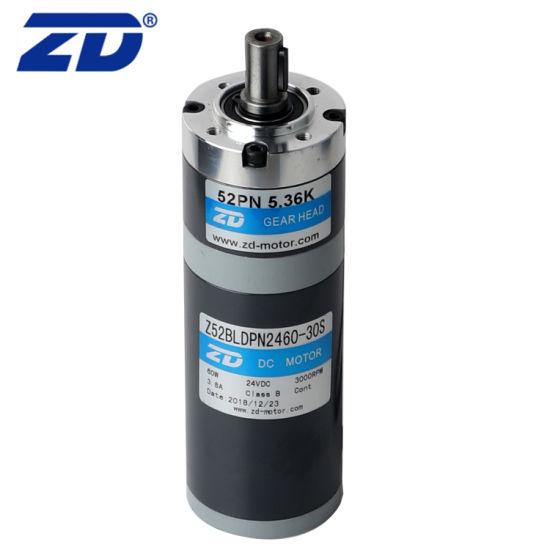 ZD 52mm Three Steps Brush/Brushless Precision Planetary Transmission Gear Motor