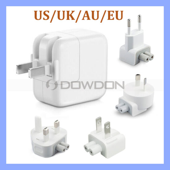 2.1A 10W Us/UK/EU/Au USB Power Adapter for iPad iPhone Wall Charger