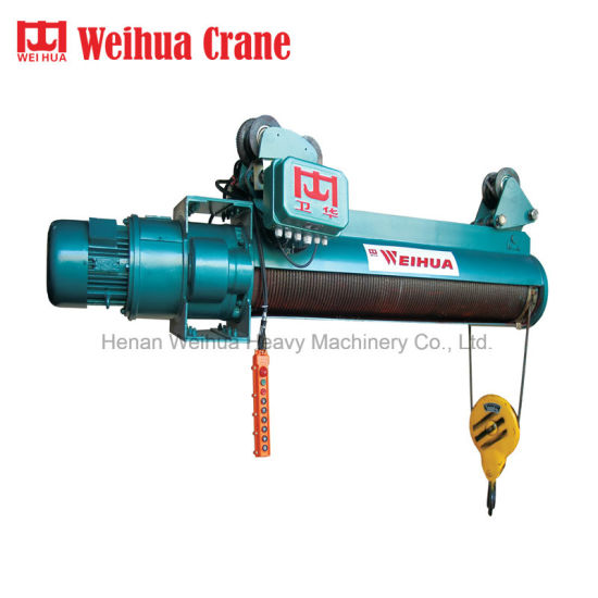 Weihua 10ton Wire Rope Electric Hoist Hoisting Machine pictures & photos