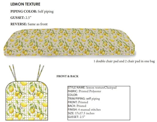 Outdoor Chairs Pads For Home Goods, Home Goods Chair Cushions