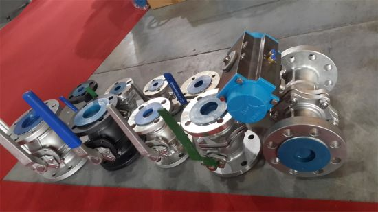 2PC Ball Valve Heavy Type 1000WOG pictures & photos