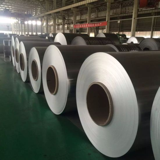 Hot Rolled &Cold Rolled AA5754 Aluminum Coil Ho/H24/H22 pictures & photos