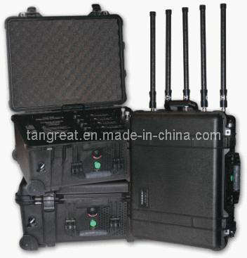 Software Controlled Mobile Phone Jammer (TG-VIP)